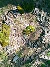 Land art-spirály a náhrdelníky pro stromy